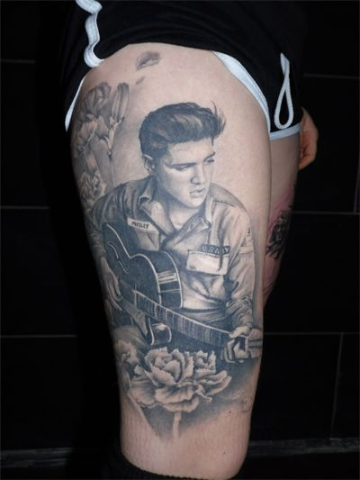 elvis tattoos
