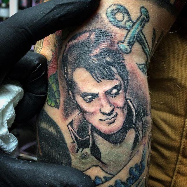 Tattoo Ideas Elvis: Amazing Elvis Presley Tattoos Part-1