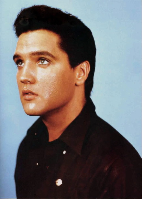 August 25 1960- Elvis took promotional pictures at