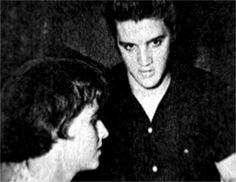 Elvis with his girlfriend June Juanico in Biloxi july 1956 2
