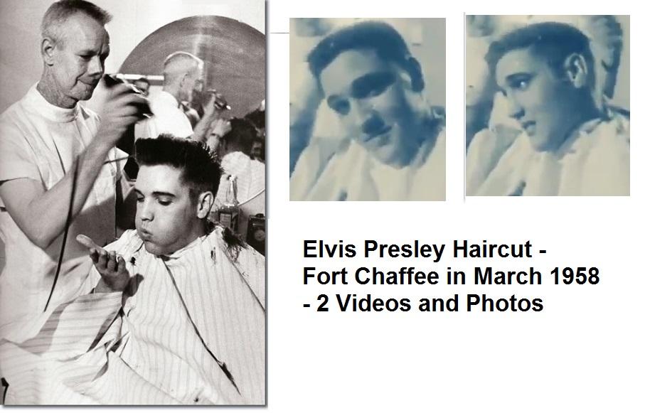 Elvis Presley Haircut Fort Chaffee In March 1958 Elvis Presley