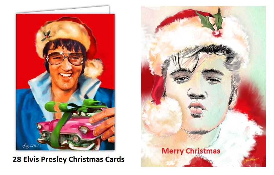 28 Beautiful Elvis Presley Christmas Cards – Elvis Presley