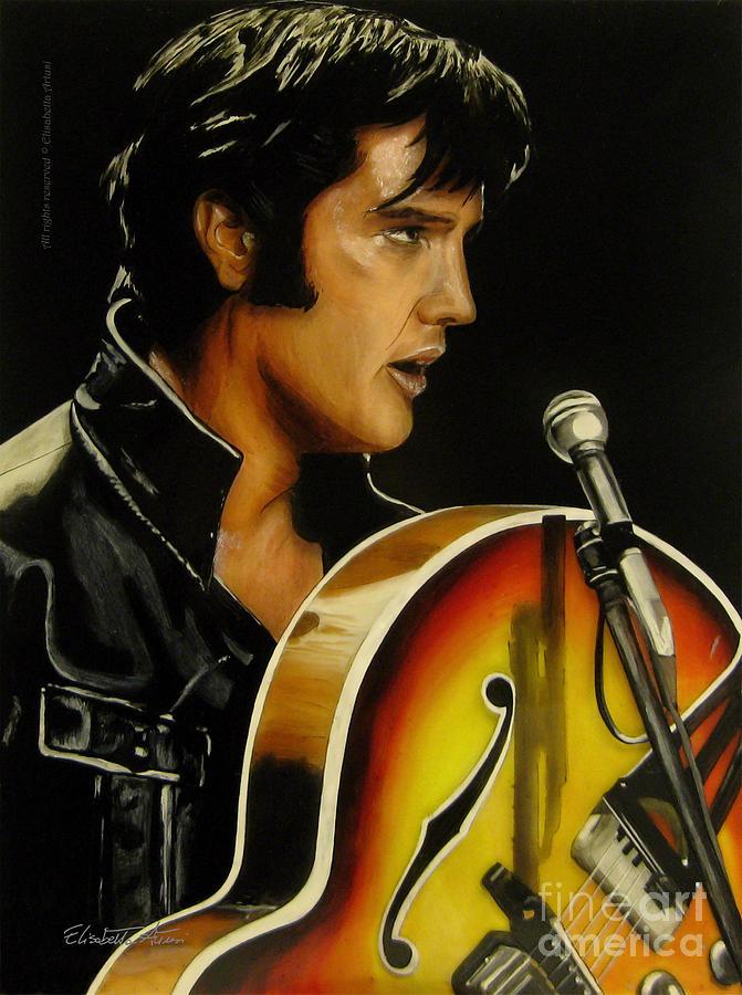 Elvis Presley sings 'How Great Thou Art' In 1977 Performance  |1977 Elvis Painting
