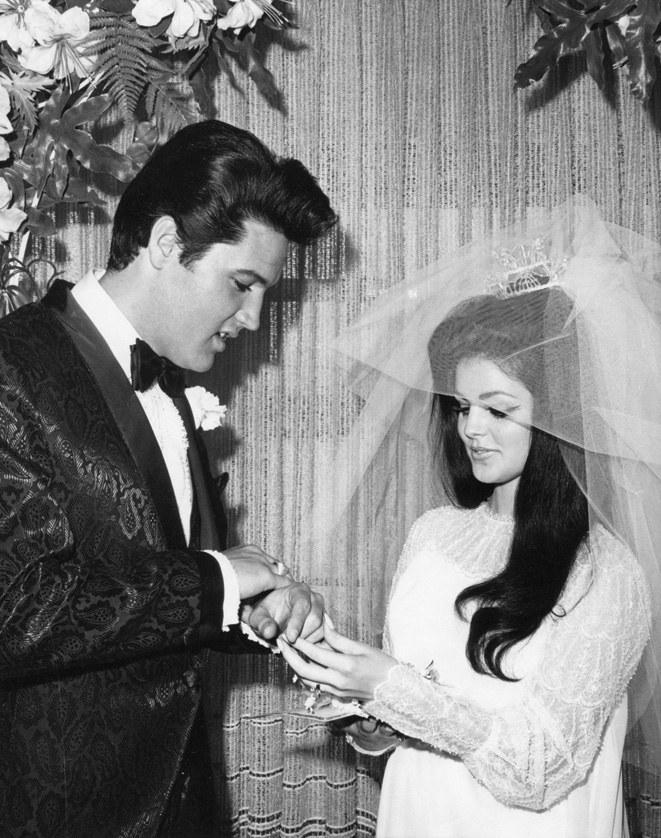 Elvis Presley Black Ring
