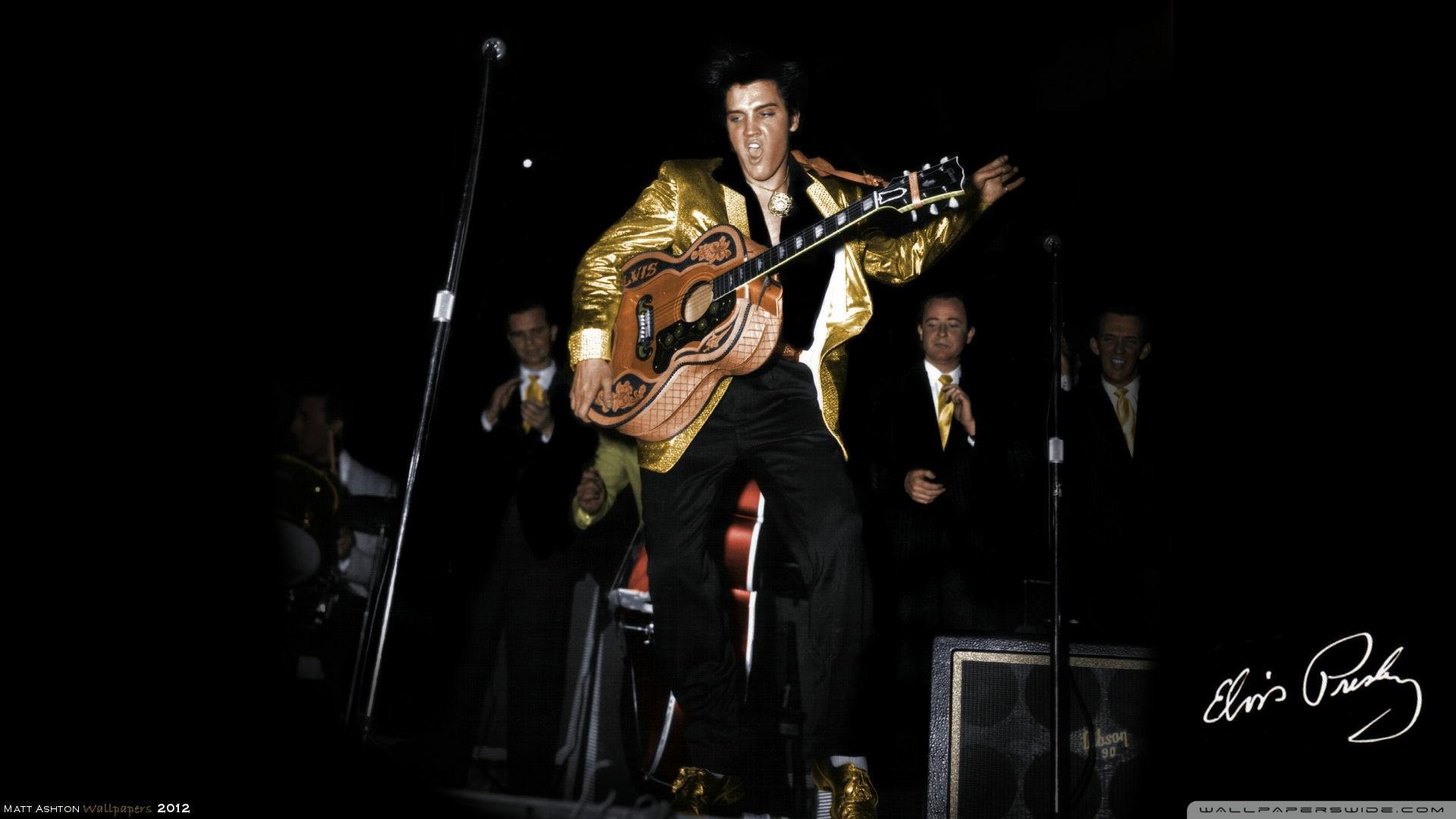 Best 15 Elvis Presley HD Wallpapers